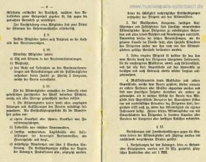 Auszug aus der Satzung von 1926