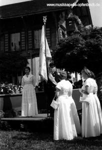 Fahnenweihe 1955