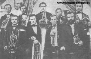 Musikfoto aus den 1860er Jahren