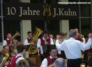10 Jahre Dirigent Johannes Kuhn