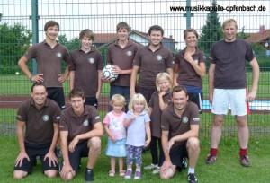 Fußball-Mannschaft der Musikkapelle Opfenbach