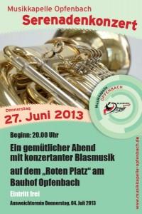Serenadenkonzert 2013